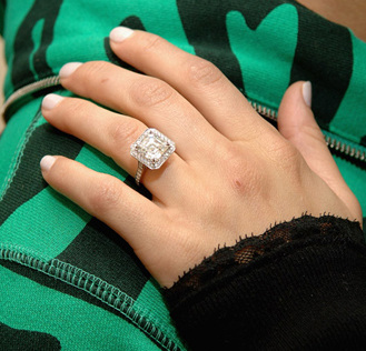 WeddingEngagement Rings Diamonds Are A Girls Best Friend